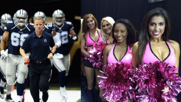 Sideline Photos: Cowboys at Saints