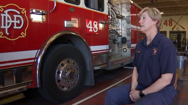 Firefighter Talks About Being Trapped in Burning Building