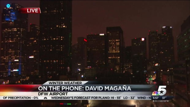 DFW Airport Recommends Calling Ahead