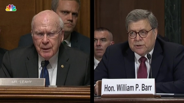 [NATL] Barr Challenged on Prior Testimony in Light of Mueller Letter