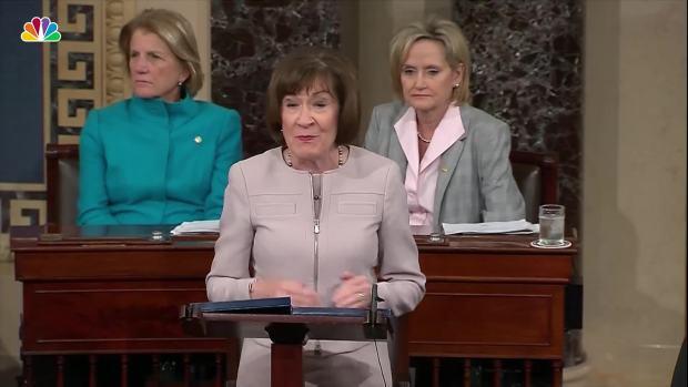 [NATL] Watch: Sen. Collins Full Speech on Kavanaugh