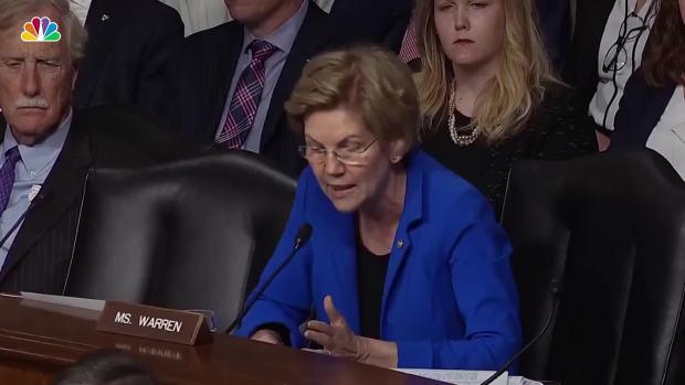 [NATL] Sparks Fly Between Sen. Warren, Mark Esper Over Ties to Defense Contractor at Confirmation Hearing