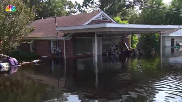 [NATL] Flood Waters From Florence Persist in Carolinas