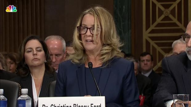 [NATL] Key Moments From Ford's Testimony on Kavanaugh