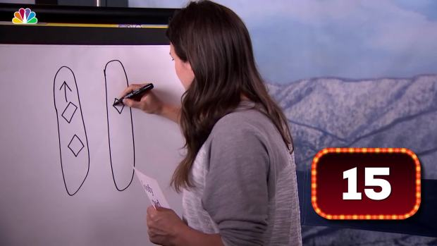 [NATL] What Is Kelly Clark Drawing?