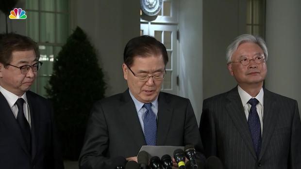 [NATL] South Korean Leader Says Trump Will Meet With North Korean Dictator