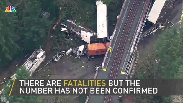 [NATL] Multiple Casualties in Washington State Derailment