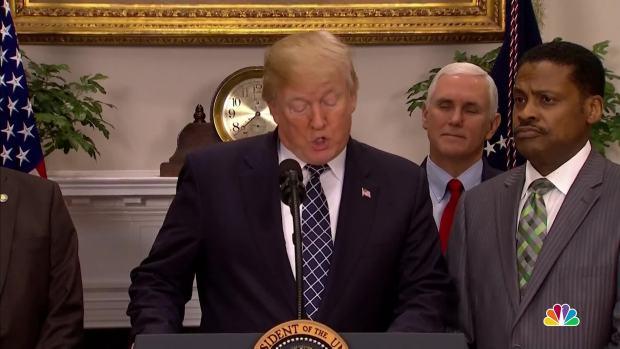 [NATL] President Trump Signs MLK Day Proclamation