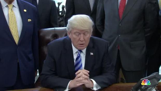 [NATL] Trump Issues Keystone XL Pipeline Permit
