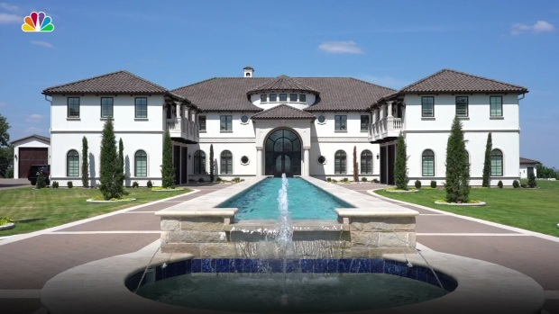 Mansion Perched Above DFW Hits NTX Real Estate Market