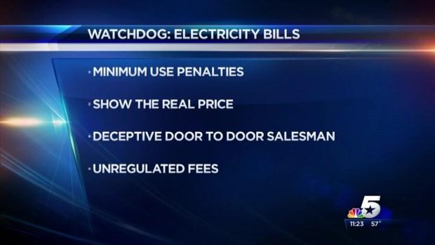 [DFW] The DMN's Dave Lieber - Electric Bills