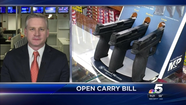[DFW] The DMN's Rudy Bush: Open Carry Bill