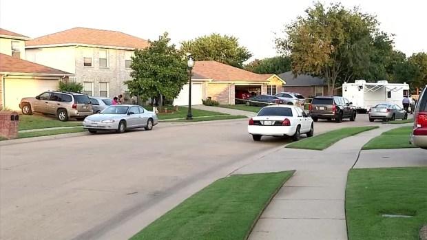 McKinney Police Investigate Double Homicide (Raw Video)