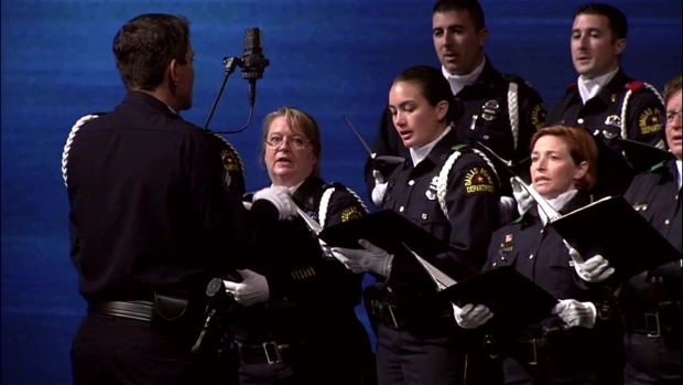 Sgt. Michael Smith Funeral: DPD Choir