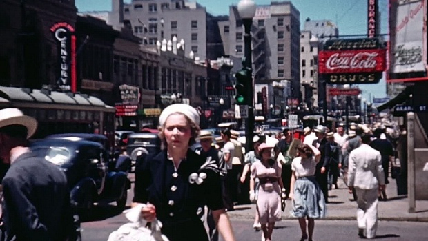 Rare Footage of Dallas Discovered From 1939
