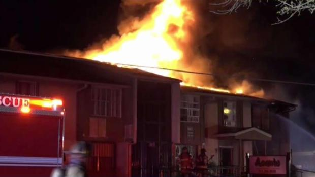 Overnight Fire Destroys Dallas Charity Offices