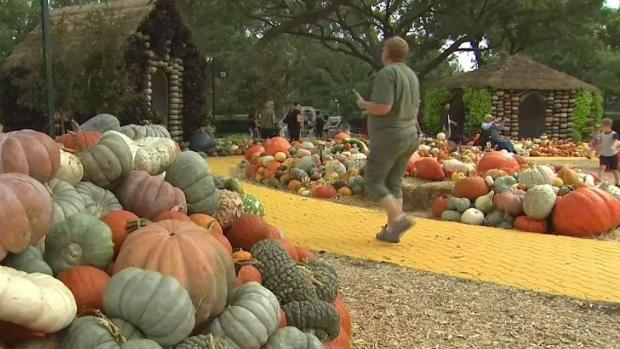 [DFW] Dallas Arboretum Autumn Festival Has a Fairy-Tale Feel
