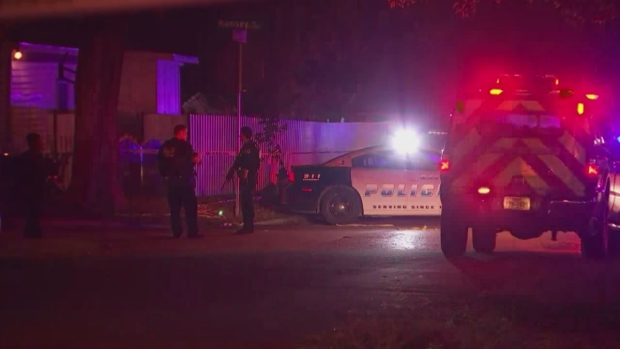 Dallas Police Investigate Shooting in Oak Cliff (Raw Video)