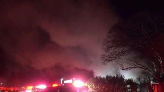 [DFW] House Fire Leaves 1 Woman Dead, 1 Woman Injured