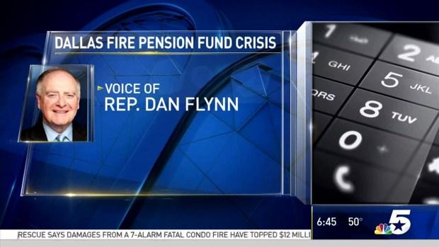 [DFW] TX Rep. Discusses Bill to Save Dallas Pension Crisis