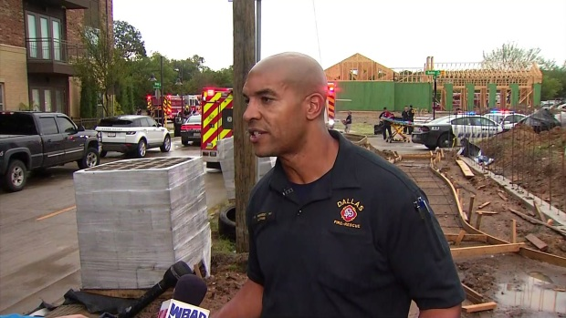 Dallas Fire Gives the Latest on Building Collapse