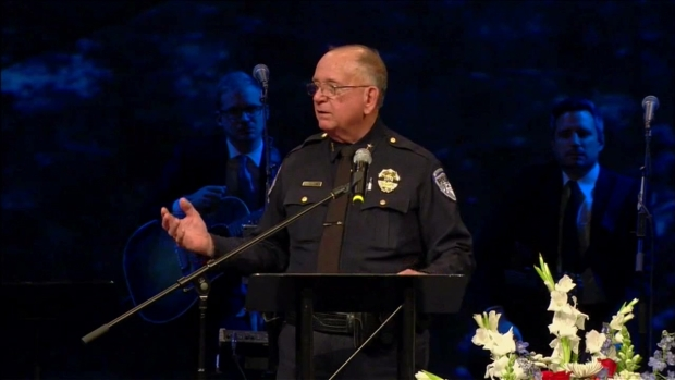 Chief Recalls Officer's Love of Family, Humor