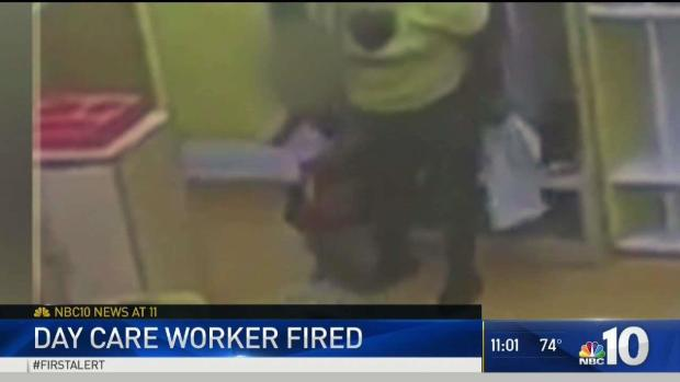 [NATL-PHI] Day Care Worker Fired Over Slap Caught on Camera