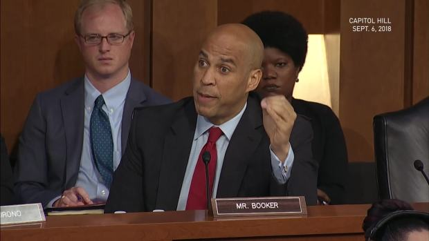 Booker Threatens to Release Confidential Docs on Kavanaugh