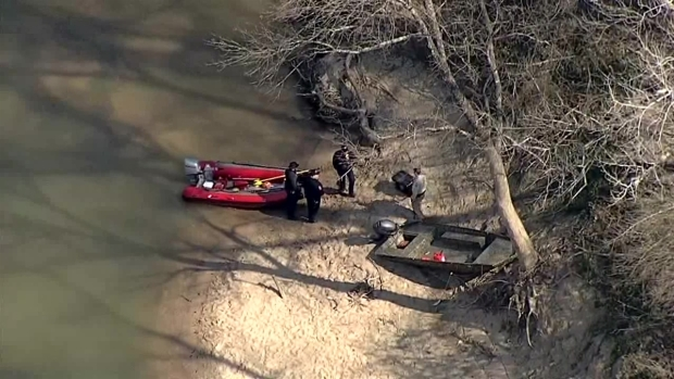 Father Still Missing After Boat Crash In Denton Creek