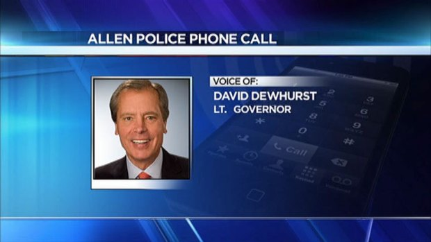 [DFW] Full Audio: Lt. Gov. David Dewhurst's Call to Police
