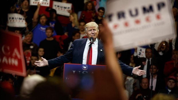 Trump Thanks Supporters, Names Mattis in Ohio