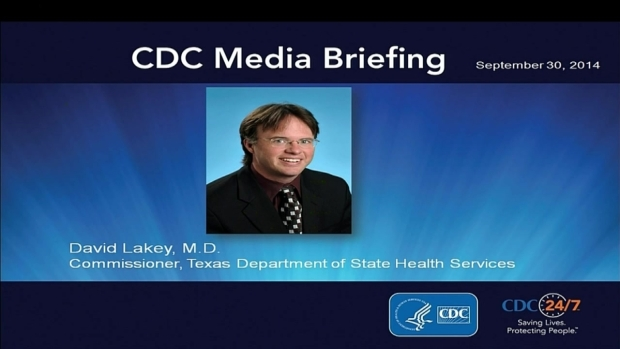 [DFW] Texas Dept. of State Health Services on Ebola