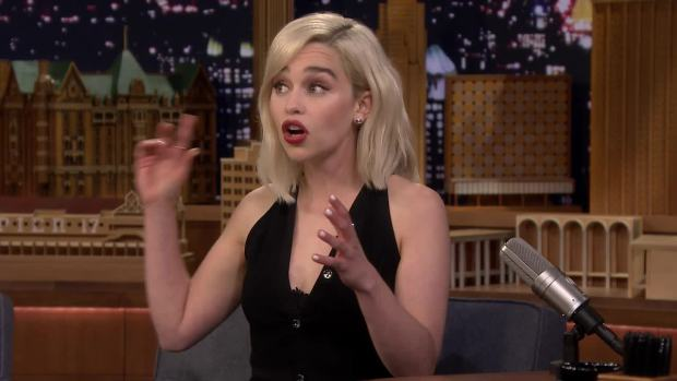'Tonight': Emilia Clarke's Embarrassing Wookiee Impression