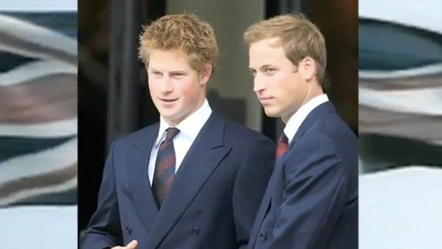 [LXTVN] Princes William and Harry Revealed