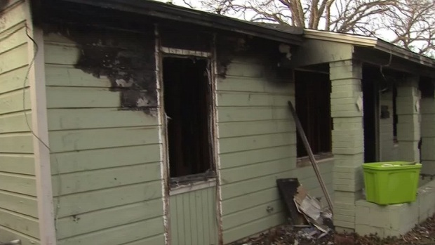 [DFW] Fire Destroys Euless Family's Home During Ice Storm