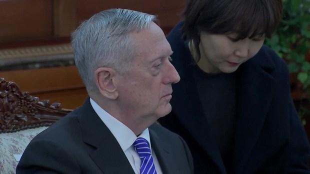 [NATL] James Mattis Confirms Alliance With South Korean Leader
