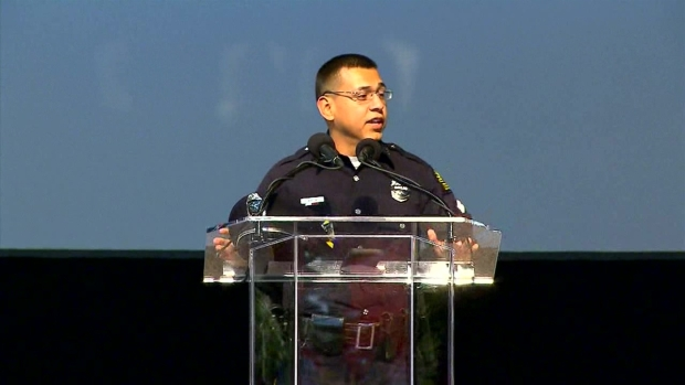 Rosary Service Held For Officer Zamarripa