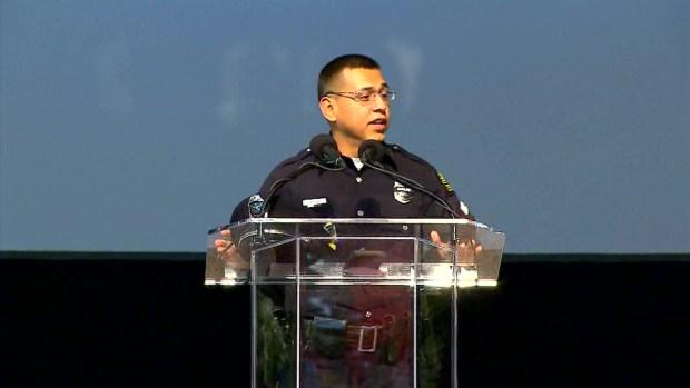 Rosary Service Held For Officer Zamarripa