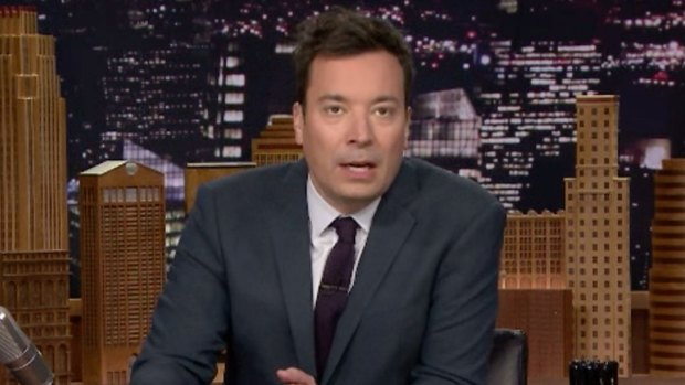 [NATL] Jimmy Fallon Pays Tribute to David Bowie's New Album