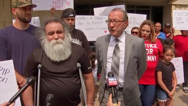 [DFW] Family of Farmers Branch Man Shot Speak