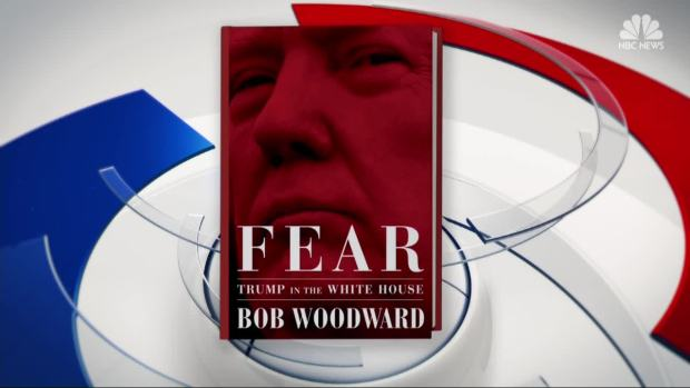 [NATL] New Tell-All Book 'Fear' Details Trump, White House Disarray