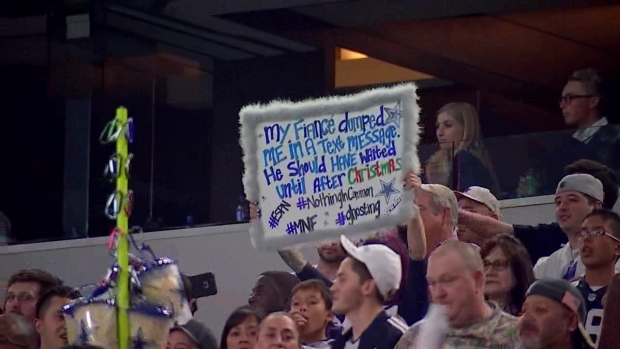 Cowboys Fan's Revenge After Text Message Breakup
