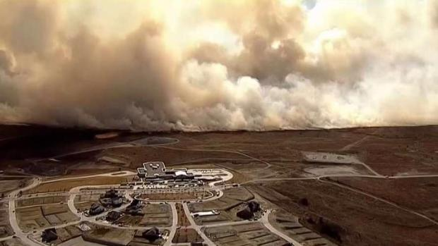 Evacuations Ordered Amid North Texas Wildfires