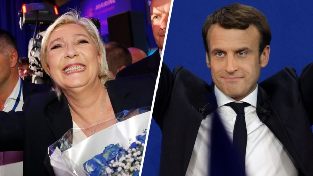 Top News: Macron, Le Pen Win First Round of France Elections