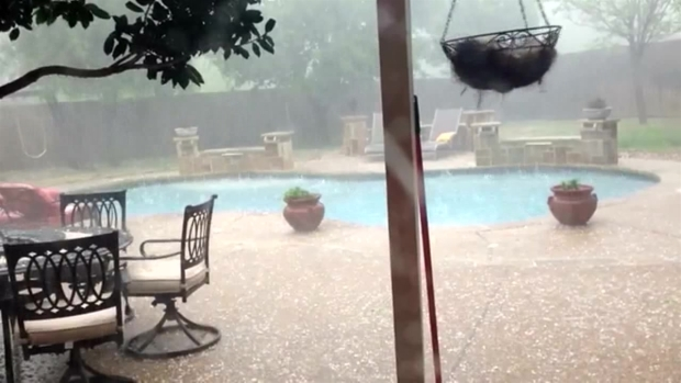 Frisco Hail Storm