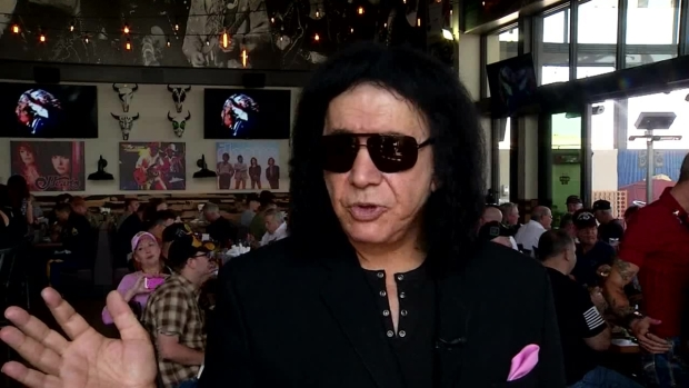 "Gene Simmons on ""Rock & Brews"""