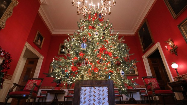White House Decks the Halls for 2018 Holiday Season