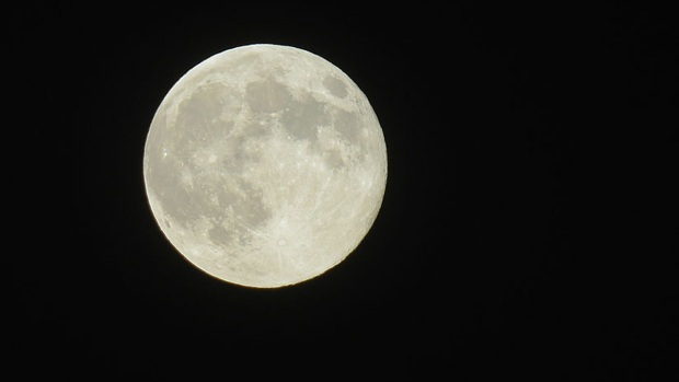 Catching A Glimpse of Rare Supermoon