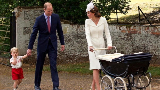 [NATL-NY] UK's Princess Charlotte Christened on Queen's Estate
