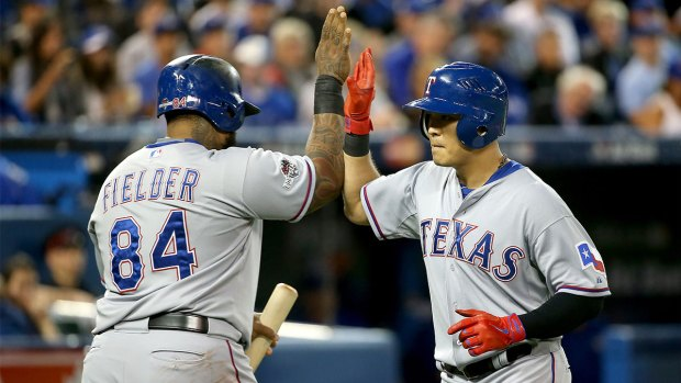 Rangers v. Blue Jays - ALDS Game 5